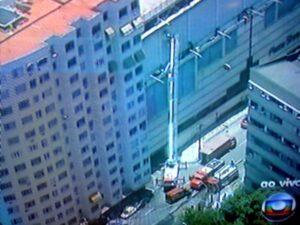 Incêndio no Plaza Shopping Niterói 1