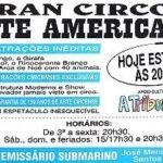 Panfleto do Gran Circo Americano