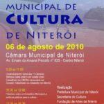 Cartaz da Eleição para o Conselho de Cultura de Niterói em 2010