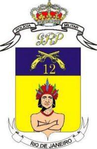 Brasão do 12º BPM (Niterói)
