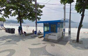 Cabine da PM na Praia de Icaraí