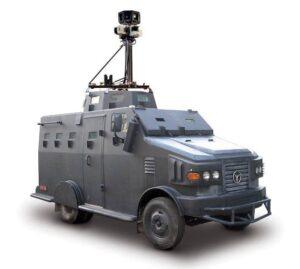 Carro do Google Street View blindado